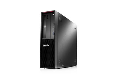 联想ThinkStation P320 SFF工作站(至强四核E3-1225V6 3.3GHz 丨8G内存丨2TB SATA硬盘丨NVIDIA P600 2G独显丨3年保修)