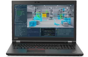 联想ThinkPad P72 移动工作站(酷睿六核 i7-8750H丨8G内存丨1TB SATA丨Nvidia P2000 4G独显丨17.3英寸 FHD丨Win10家庭版丨3年保修)